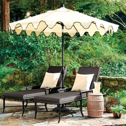 Bunny Williams Mughal Arch Umbrella