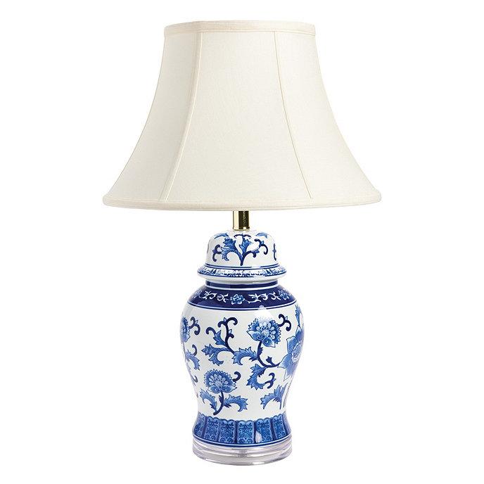 Blue White Ginger Jar Lamp La109 Product 2