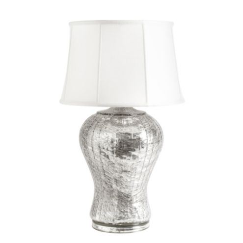 Evangeline Table Lamp Black Silk