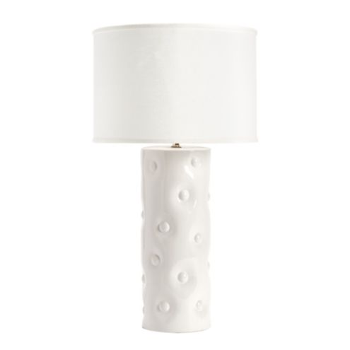 Button Ceramic Table Lamp &amp Base
