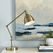 Lucy Metal & Glass Task Lamp