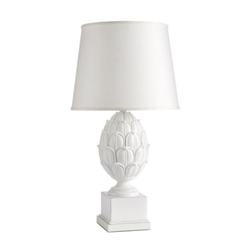 Artichoke White Table Lamp