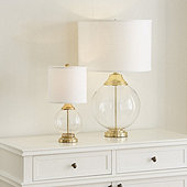 Jamie Glass Lamps