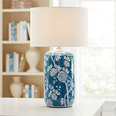 Doris Floral Table Lamp