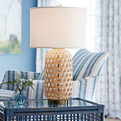 Lima Woven Table Lamp