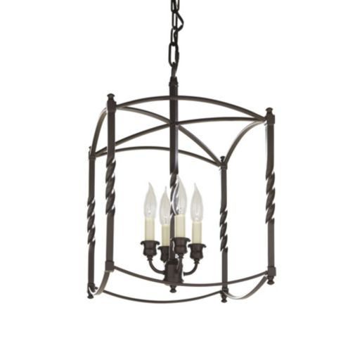 Carriage House Chandelier | Large Chandelier | Dark