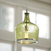 Seeded glass pendant light ballard designs seeded glass pendant light aloadofball Image collections