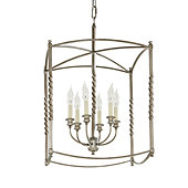 Carriage House Extra Large Pendant - Antique Silver