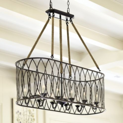 Denley 10 Light Pendant Chandelier