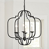 Katherine 6-Light Geometric Chandelier