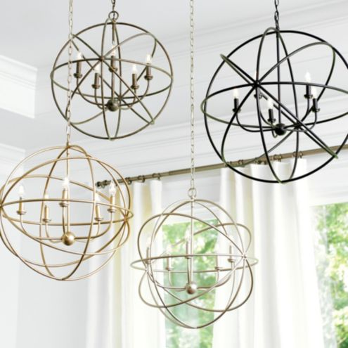 Orb Chandelier Ballard Designs