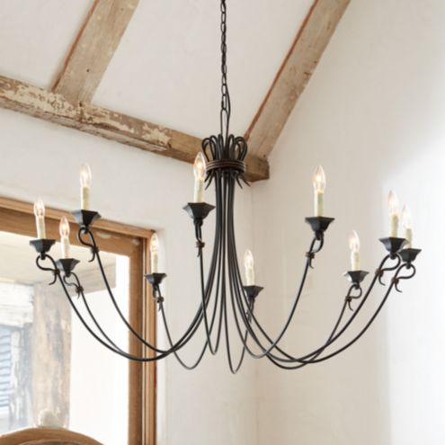 Luce 10-Light Chandelier