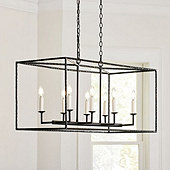 Hadley 8-Light Pendant - Rectangular