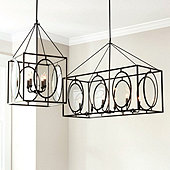 Presley Oval Glass Chandelier