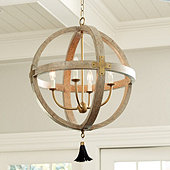 Clarissa 4-Light Orb Chandelier
