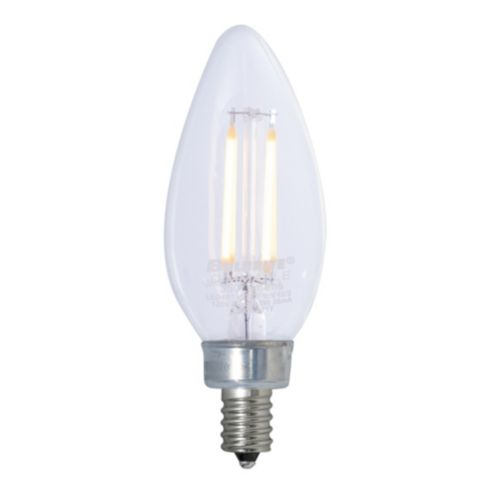 2.5W LED Dimmable Slope Candelabra Bulb