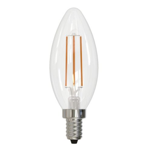 4.5W LED Filament Dimmable Candelabra Bulb
