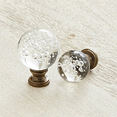 Crystal Bubble Finial