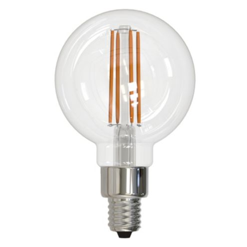 4W LED Filament Dimmable Candelabra Globe Bulb