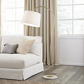 Jabe Marble Floor Lamp