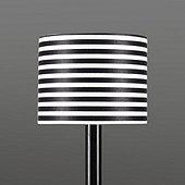 Striped Drum Chandelier Shade