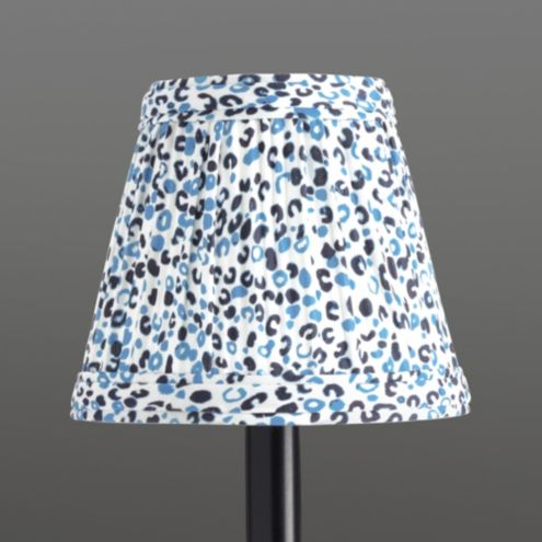 Limited Edition Lynx Animal Print Chandelier Shade