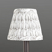 Isla Block Print Pleated Chandelier Shade