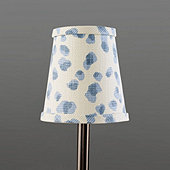 Mira Blue Chandelier Shade