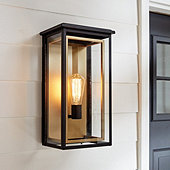 Whitaker Two-Tone Outdoor Sconce