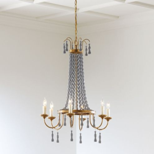Casa Florentina Umberto 6-Light Chandelier - Select Finishes