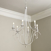 Alexandra Crystal 6-Light Chandelier
