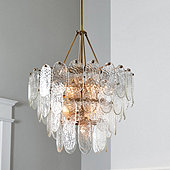 Viola Glass 7-Light Chandelier