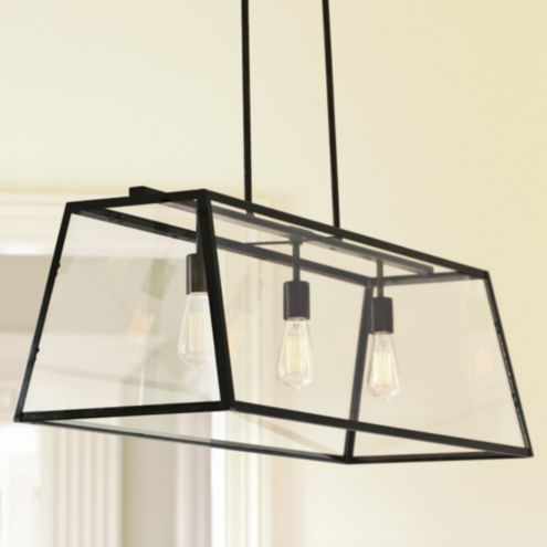 Eldridge Outdoor Rectangular Pendant