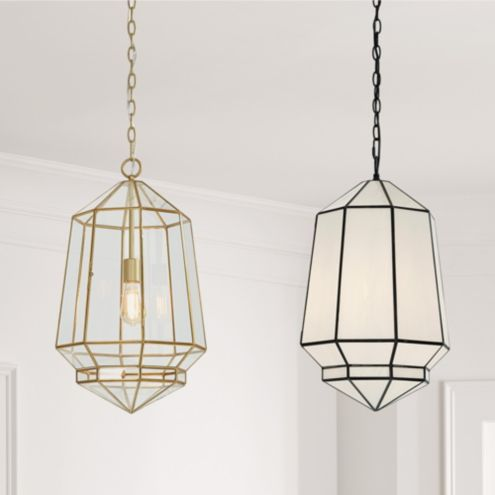 khloe Large Milk Glass Pendant Light