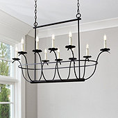 Samantha 10-Light Chandelier