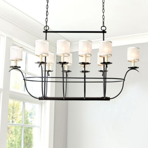 Samantha Bronze Chandelier