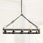 Liam Rectangular Chandelier