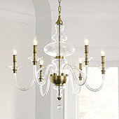 Mila Blown Glass Chandelier