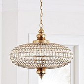 Lucille Faceted Crystal Chandelier