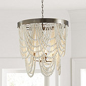 Andrea Draped Bead Chandelier