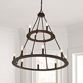 Grafton Tiered 12-Light Chandelier