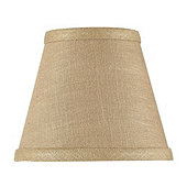 Linen Chandelier Shade - Taupe