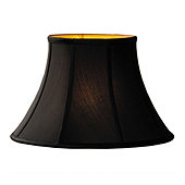 Couture Bell Lamp Shade - Taupe Silk