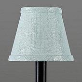 Metallic Linen Chandelier Shade