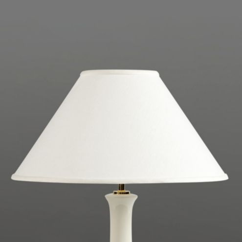 Couture Conical Lamp Shade Cream 21