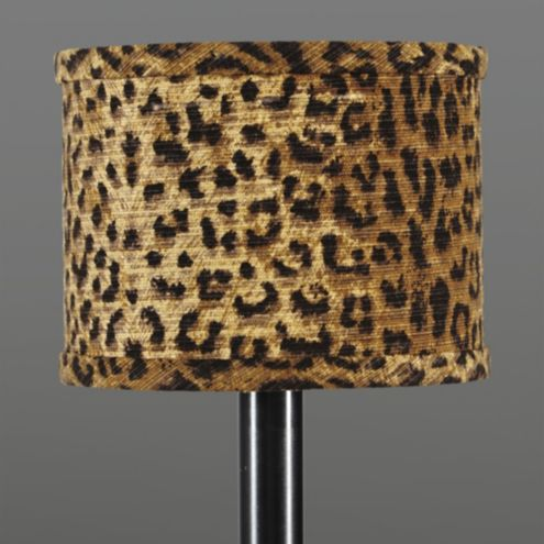Cheetah Drum Chandelier Shade