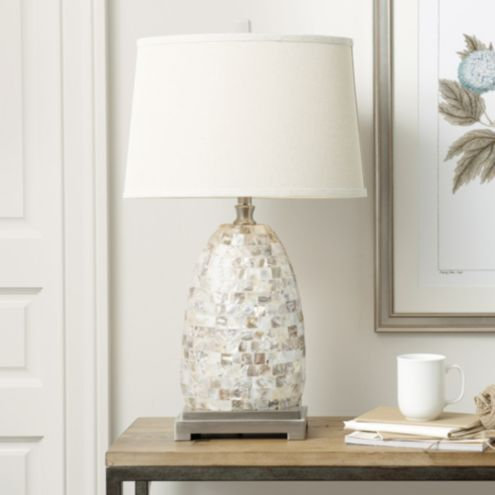 Cora Capiz Table Lamp Ballard Designs