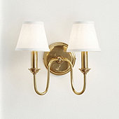 Hazel Double Arm Sconce