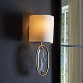 Viola Glass Wall Sconce