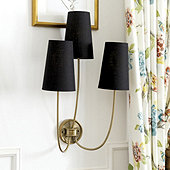 Lottie Triple Arm Sconce
